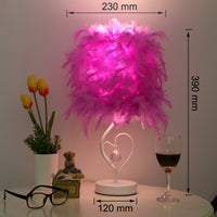 Feather Crystal Dream Lamp