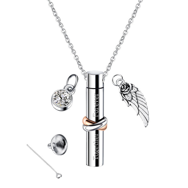 Home Memorial Urn Crafts Necklace Pendant Multifunction