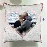 Luxury Personalise Throw Pillow