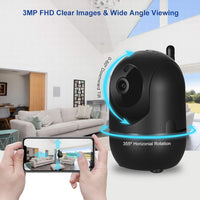 Home Security Surveillance Wifi Camera Auto Tracking