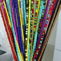 1pc Fashion Bohemian Style Waist Chain Creative Beads Decor Waist Jewelry Belly Chain For Women Girls Jewelry Accessories