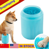 Pet Cats Dogs Foot Clean Cup for Dogs Cats Cleaning Tool Soft Plastic Washing Brush Paw Washer Pet Dog Accessories