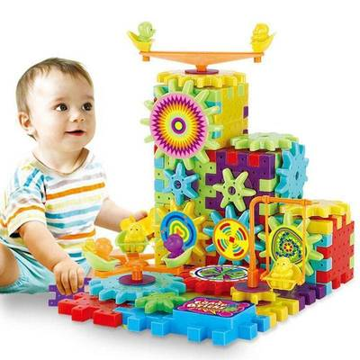 Dynamic Gears - Building Blocks Educational Toys