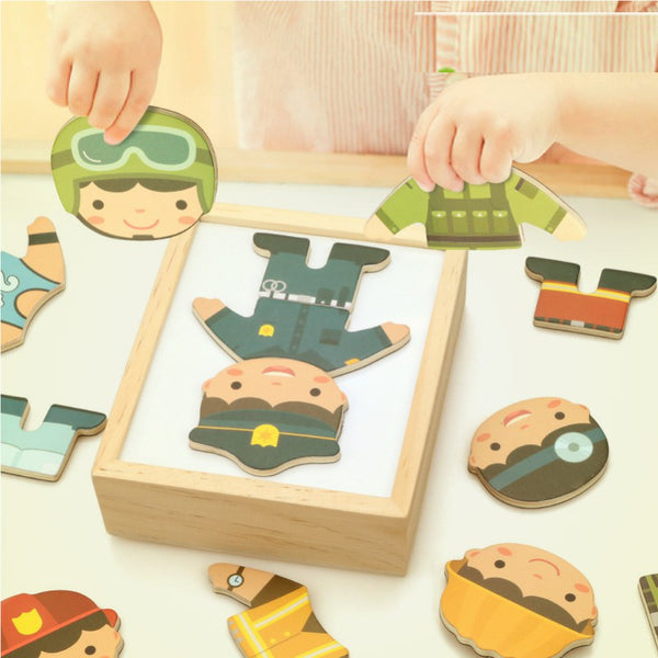 Montessori Dress Up Puzzle
