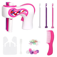 In Stock Electric Automatic DIY Hair Knitting Machine Braid Hair Tools Twist Knitting Hair Knitting Roll Twisted Xmas Girl Gift
