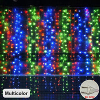 Christmas Curtain Lights Garland New Year 2021 Christmas Decorations for Home Christmas Tree Ornaments Xmas Gifts Navidad 2020