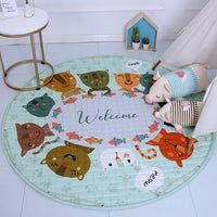 Beautiful Round Baby Play Mats