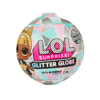 L.O.L. Surprise! Winter Disco Series Glitter Globe with 8 Surprises