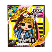 L.O.L. Surprise! O.M.G. Remix Pop B.B. Fashion Doll - 25 Surprises with Music