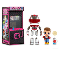 L.O.L. Surprise! Boys Arcade Heroes Action Figure Doll with 15 Surprises