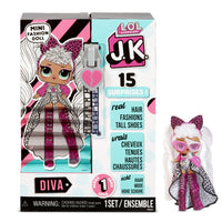 L.O.L. Surprise! J.K. Mini Fashion Doll- Diva with 15 Surprises