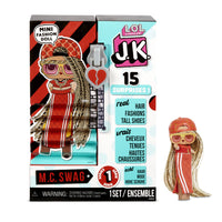 L.O.L. Surprise! J.K. Mini Fashion Doll - M.C. Swag with 15 Surprises