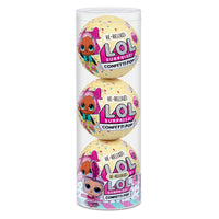 L.O.L. Surprise! Confetti Pop 3 Pack Showbaby - 3 Re-released Dolls Each with 9 Surprises