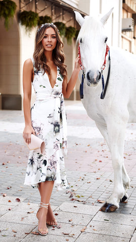 My Darling Dress - White Floral