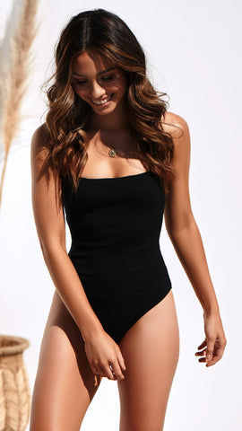 Pepper Bodysuit - Black