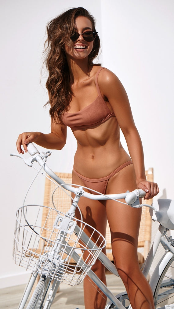 Ziggy Bikini Set - Tan
