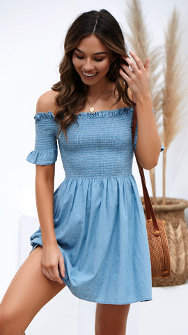 Rory Dress - Chambray