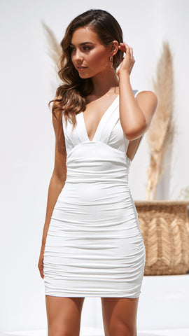 Anastasia Dress - White