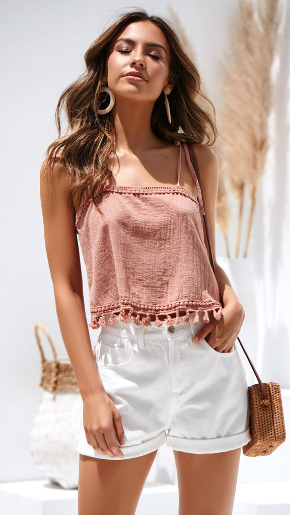 Melody Top - Terracotta