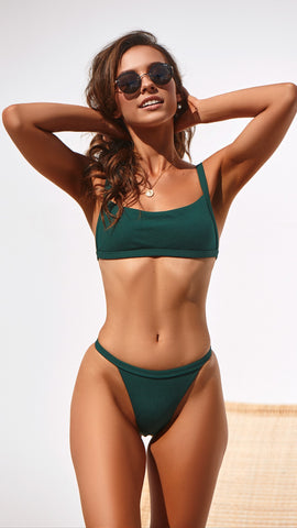 East Bikini Set - Emerald