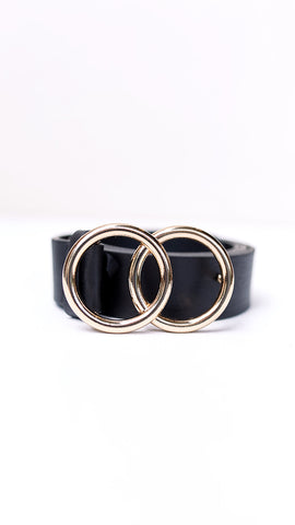 Cartia Belt - Black / Gold