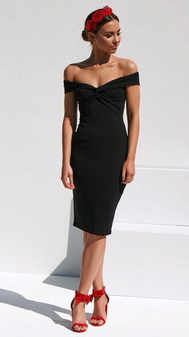 Power of Love Dress - Black