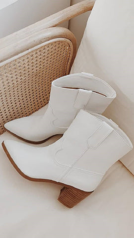 North Boots - White