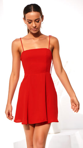 Endless Love Dress - Scarlet