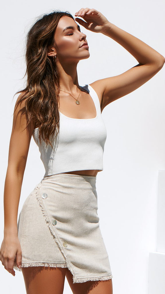 Mykee Top - White