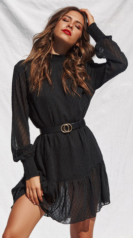 Lazaro Dress - Black