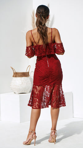 Babylon Dress - Red