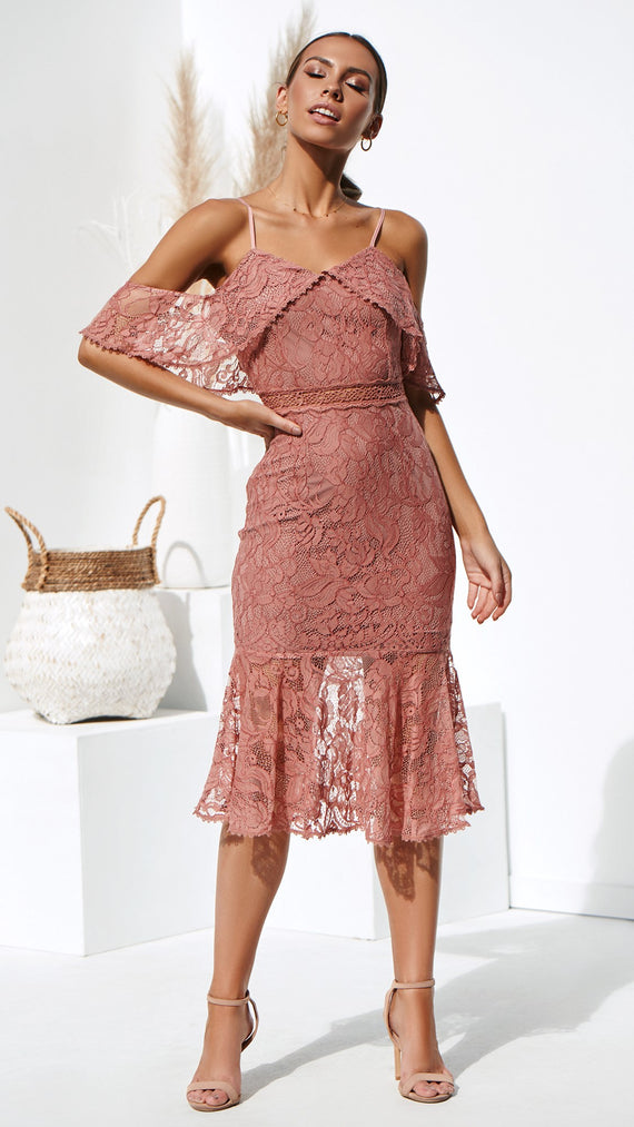 Babylon Dress - Mauve