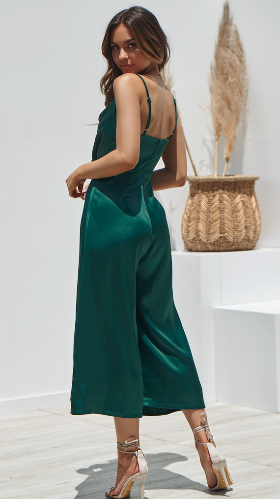 Loveday Jumpsuit - Emerald