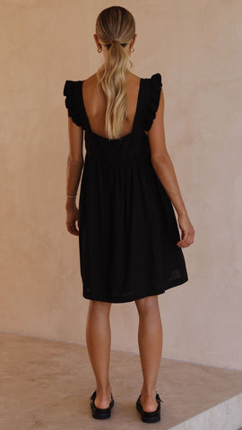 Josifine  Dress - Black