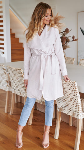 Kinsley Coat - Blush