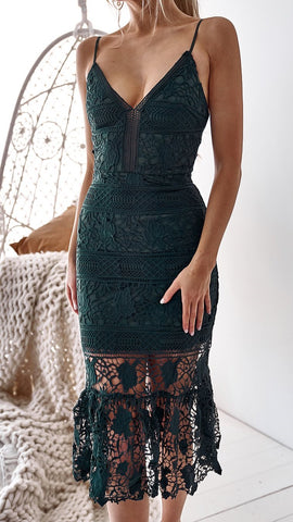 Remedy Dress - Emerald