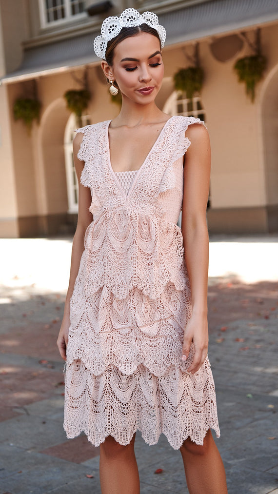 French Quarter Lace Dress