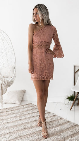 Elysian Dress - Peach