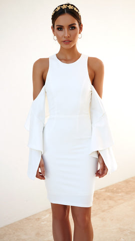 Martini Dress - White