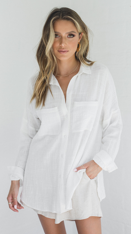 Sundown Top - White