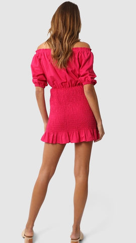 Ivana Dress - Fuchsia