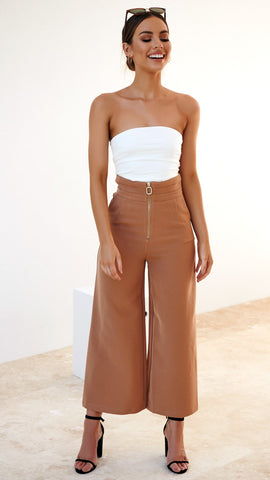Soho Pants - Tan