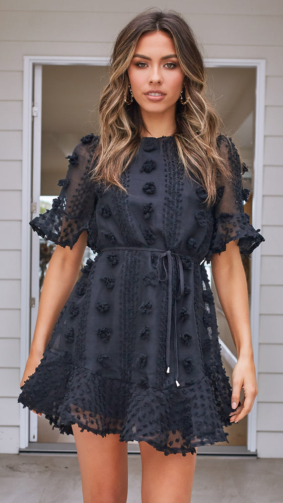 Reagan Dress - Black