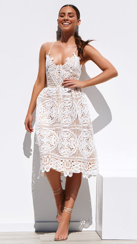 Annabelle Dress - White