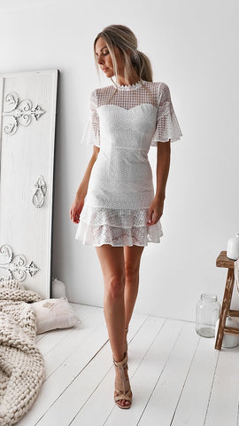 Rosalie Dress - White