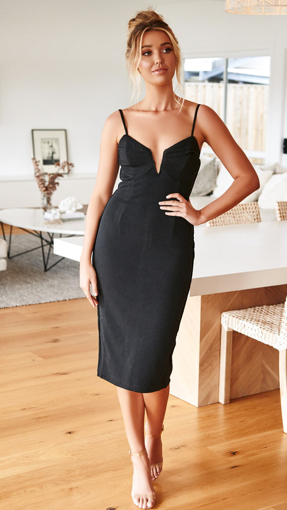 Calvin Dress - Black