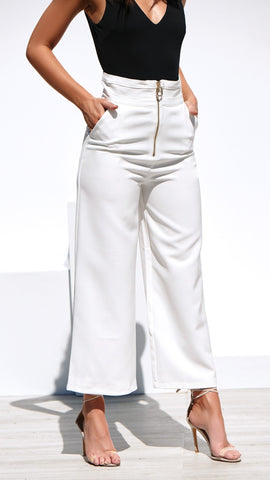 Soho Pants - White