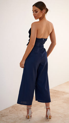 Kendall Jumpsuit - Navy