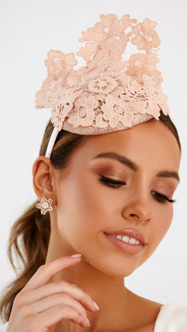 Purity Headpiece - Blush