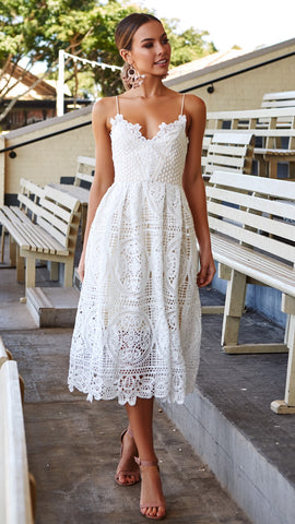 Dreaming of you dress - White*